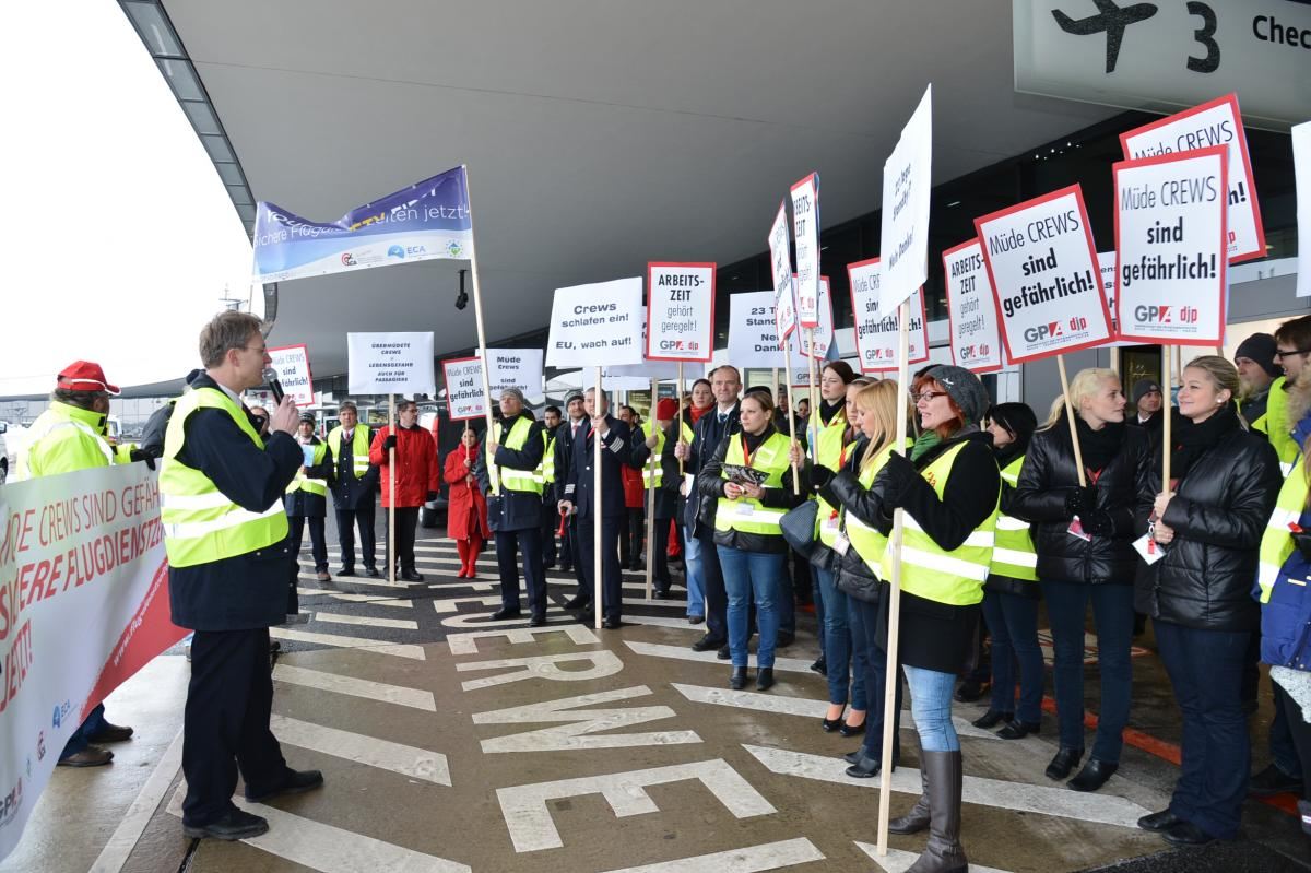 Walkout for Safety, Austria 22 Jan